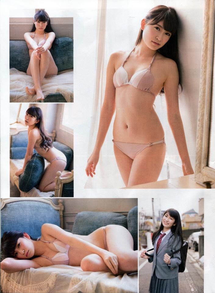 おしゃれな水着の吉田朱里
