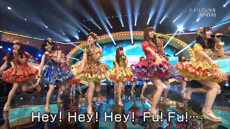 NMB48がテレ東音楽祭(2)で「ドリアン少年」を披露!(キャプ画像)