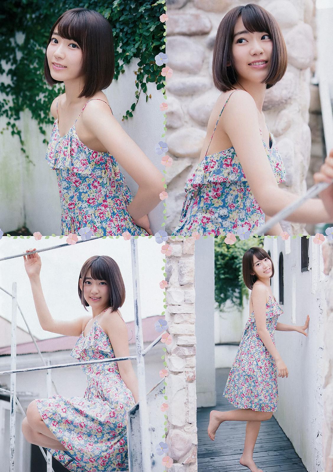 HKT48宮脇咲良ちゃんの超絶キュートな水着グラビア!