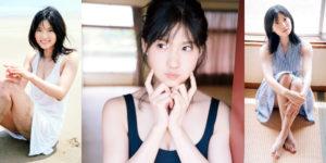 AKB48谷口めぐちゃんと海デート水着グラビア!
