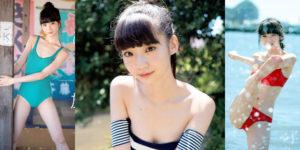 NGT48荻野由佳ちゃんのひとり旅水着グラビア!