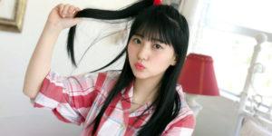 HKT48田中美久ちゃんのパジャマ姿グラビアオフショット!