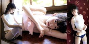 NGT48荻野由佳ちゃんの帰省する美少女水着グラビア!