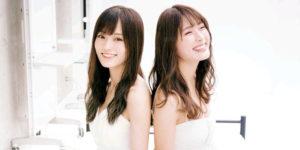 NMB48山本彩ちゃん・渋谷凪咲ちゃんの笑顔満載水着グラビア!