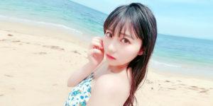 HKT48田中美久ちゃんの『BOMB! 2019年7月号』グラビアオフショット画像!