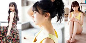 HKT48田中美久ちゃんのちょっと背伸びするグラビア画像!