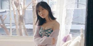 AKB48福岡聖菜ちゃんの『EX大衆 2020年2月号』水着グラビアオフショット!