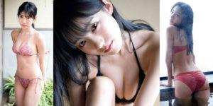 NMB48横野すみれちゃんの輝きを増す水着グラビア!
