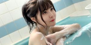 SKE48谷真理佳ちゃんの1stDVD『First♡Time!!』水着オフショット!
