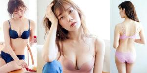 渡辺美優紀ちゃんのPEACH JOHNランジェリー姿!