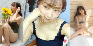 NMB48白間美瑠ちゃんの『BOMB! 2020年8月号』水着グラビアオフショット!