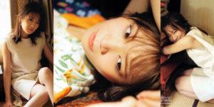 乃木坂46秋元真夏ちゃんの笑顔の隙間のグラビア画像!