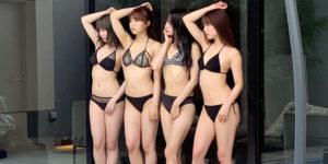 NMB48白間美瑠・石田優美・加藤夕夏・清水里香の『GIRLS-PEDIA2020 SUMMER』水着グラビアオフショット!