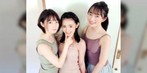 STU48今村美月ちゃん・甲斐心愛ちゃん・峯吉愛梨沙ちゃんの『BOMB! 2020年10月号』グラビアオフショット画像!