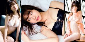 AKB48柏木由紀ちゃんの柔らかに魅せる水着グラビア!