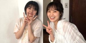 櫻坂46藤吉夏鈴ちゃん・松田里奈ちゃんの『EX大衆 2020年11月号』グラビアオフショット画像!