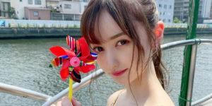 NMB48山本望叶ちゃんの『BUBKA 2021年3月号』グラビアオフショット画像!