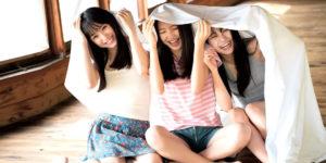 NMB48山本彩加ちゃん・梅山恋和ちゃん・塩月希依音ちゃんの透明感あふれるグラビア画像!