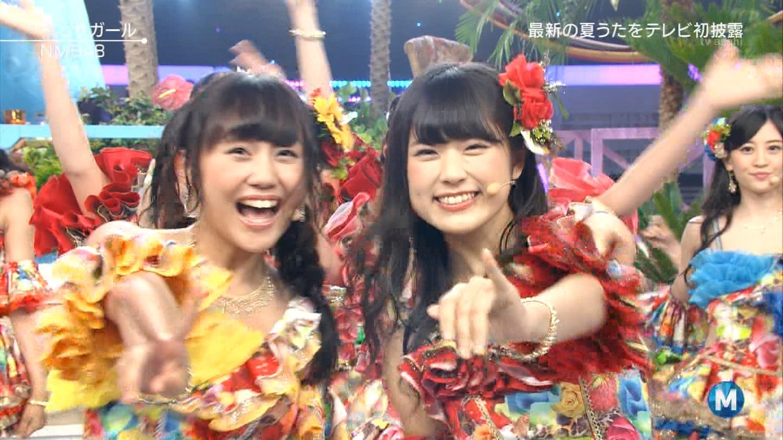 NMB48がMステで「イビサガール」を披露したのでキャプまとめ!